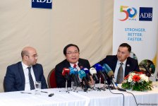 ADB to seek new potential areas for co-op with Azerbaijan   (PHOTO) - Gallery Thumbnail