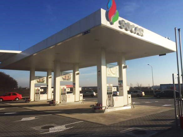 SOCAR commissions another filling station in Romania (PHOTO)