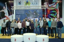 Head coach: Gymnastics developing in Azerbaijan's districts (PHOTO) - Gallery Thumbnail