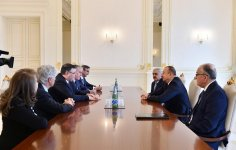 Ilham Aliyev receives Total CEO - Gallery Thumbnail