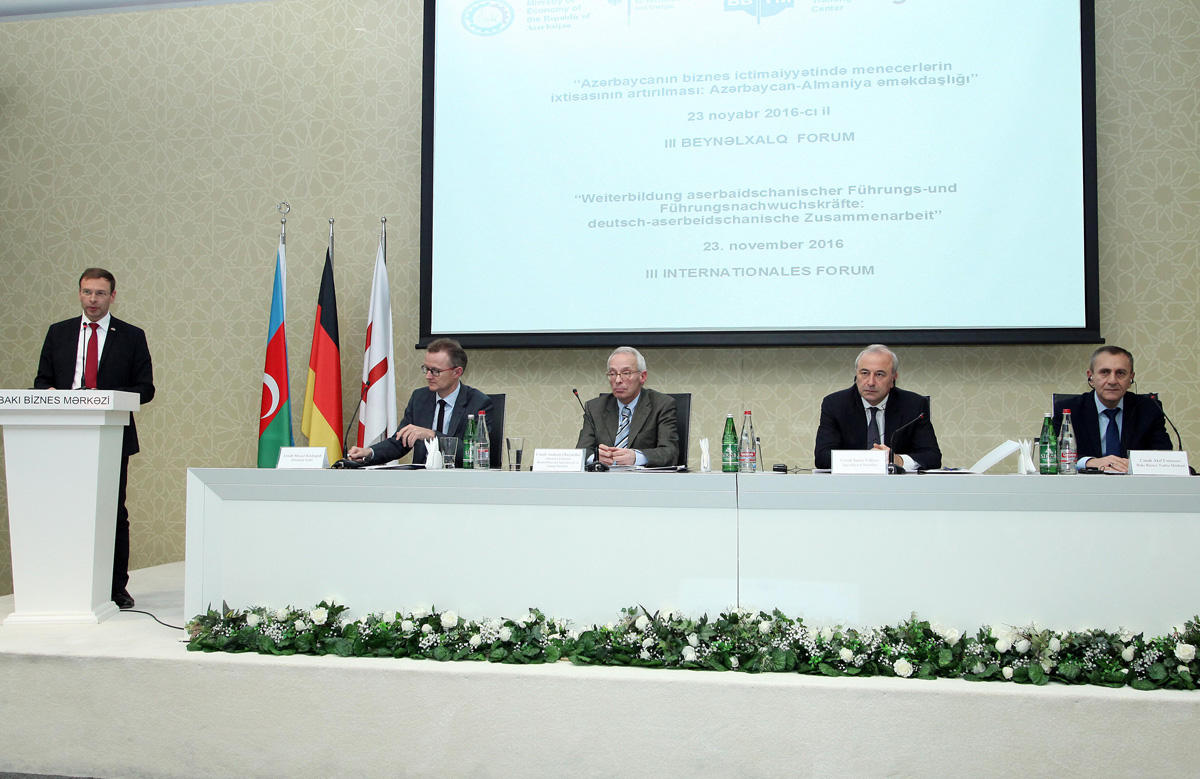Germany invests $400M in Azerbaijan's economy - Gallery Image