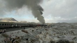 Passenger trains collide in Iran, at least 44 killed (PHOTO/VIDEO) (UPDATED) - Gallery Thumbnail