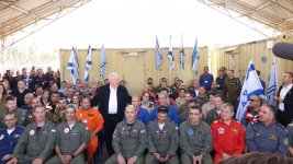 Israeli president thanks Azerbaijan for help in putting out wildfires (PHOTO) - Gallery Thumbnail