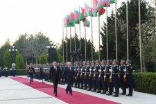 Belarus Prezidenti Aleksandr Lukaşenkonun rəsmi qarşılanma mərasimi olub (FOTO) - Gallery Thumbnail