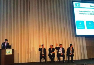 President of Azqtel attends conference on evolution from 4G to 5G in Japan
