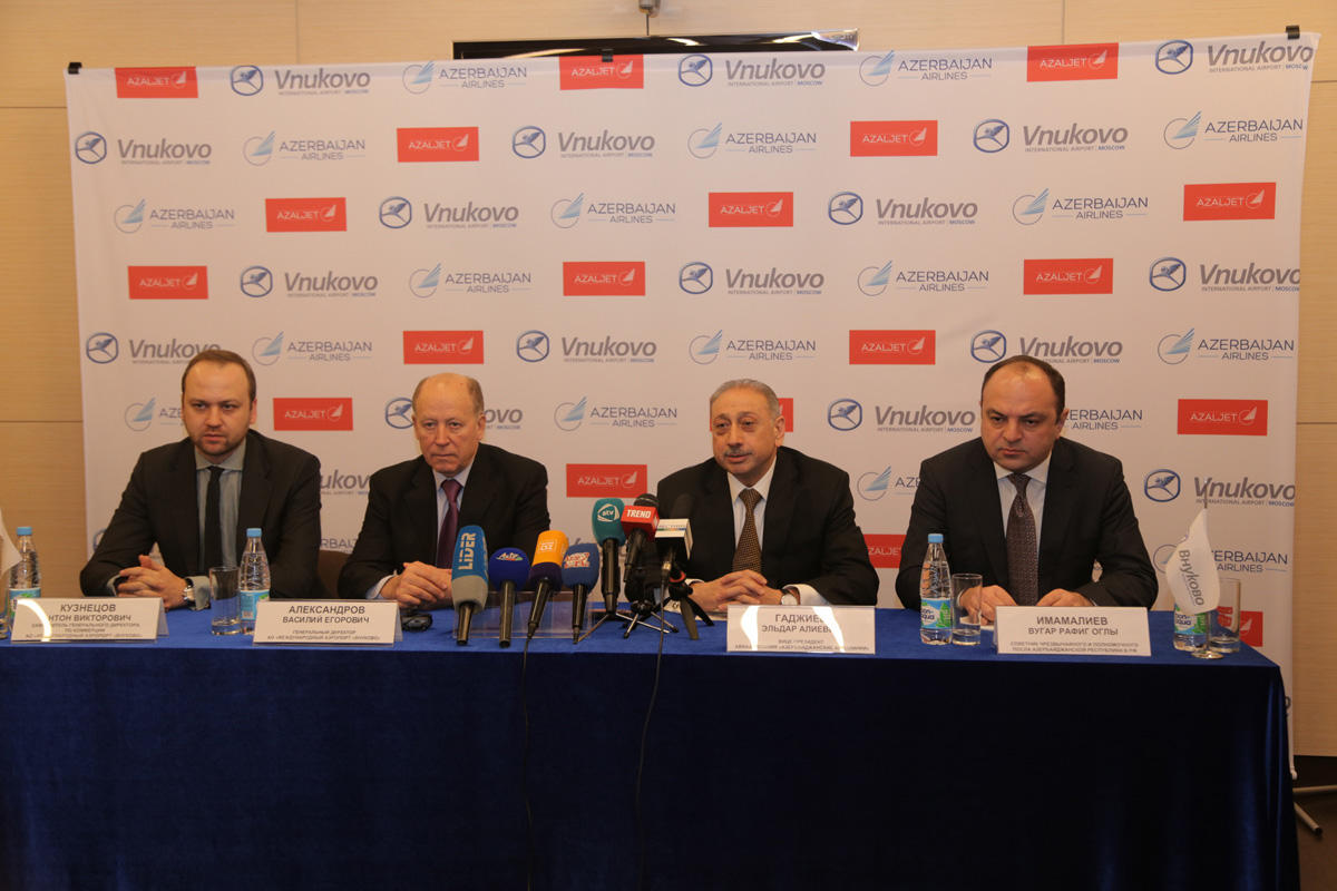 AZALJET to increase number of regular flights to Moscow (PHOTO)