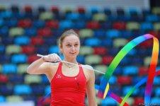 Bədii gimnastika üzrə 23-cü Azərbaycan çempionatı və Bakı birinciliyinə start verildi (FOTO) - Gallery Thumbnail