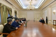 Ilham Aliyev meets members of Supreme Religious Council of Caucasian People (PHOTO) - Gallery Thumbnail