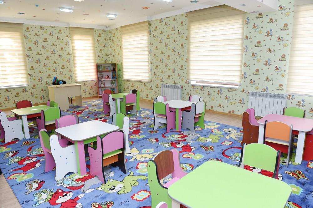 President Ilham Aliyev attends opening of orphanage-kindergarten in Tartar (PHOTO) - Gallery Image
