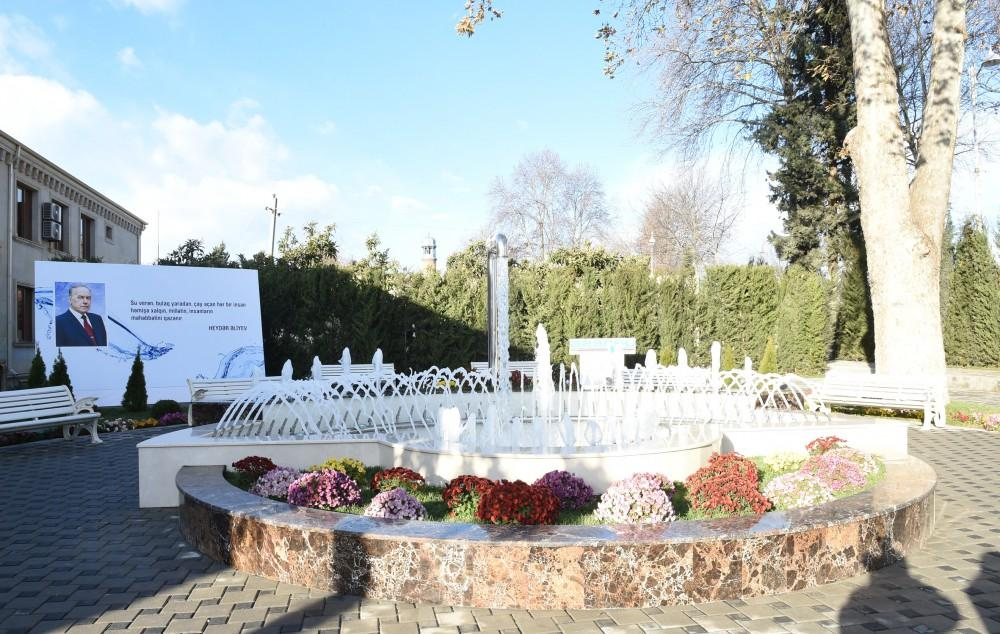 Ilham Aliyev launches Tartar city water supply and sanitation system (PHOTO) - Gallery Image