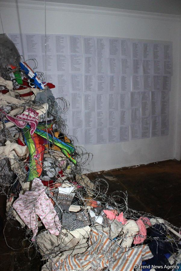 """ARTIM Layihə Məkanında """"Bu necə bir hissdir?"""" qrup sərgisi açılıb (FOTO) - Gallery Image"""