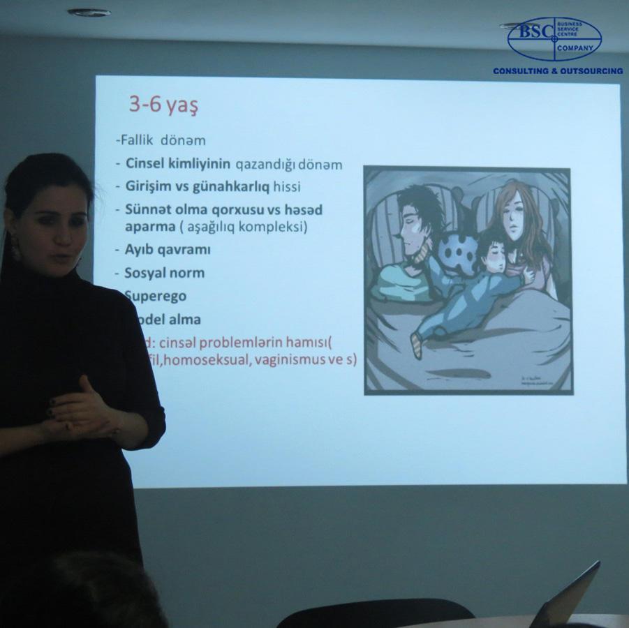 BSC Consulting & Outsourcing-də uşaqların davranış problemləri ilə bağlı seminar keçirilib (FOTO) - Gallery Image