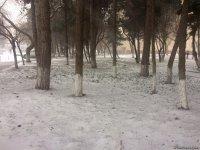 Bakü'den kar manzaraları (Fotoğraf) - Gallery Thumbnail
