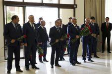 """""""Azəravtoyol"""" ASC-də ümummilli lider Heydər Əliyevin xatirəsi yad edilib (FOTO) - Gallery Thumbnail"""