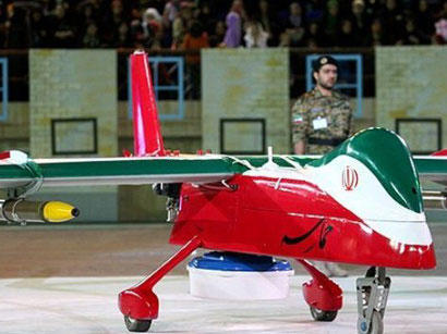 Iranian army unveils new home-made drone