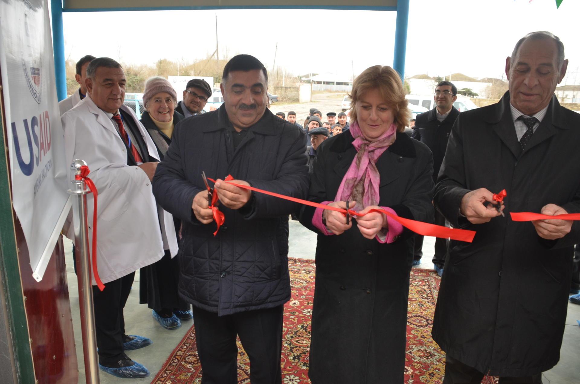 Sabırabadda süd toplama məntəqəsinin açılışı olub (FOTO)