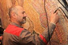 Продолжаются ремонтно-восстановительные работы на одной из станций Бакинского метро  (ФОТО) - Gallery Thumbnail