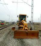 Bərgüşad-Müsüslü mənzilində 12,5 km dəmir yolu əsaslı təmir olunur  (FOTO) - Gallery Thumbnail