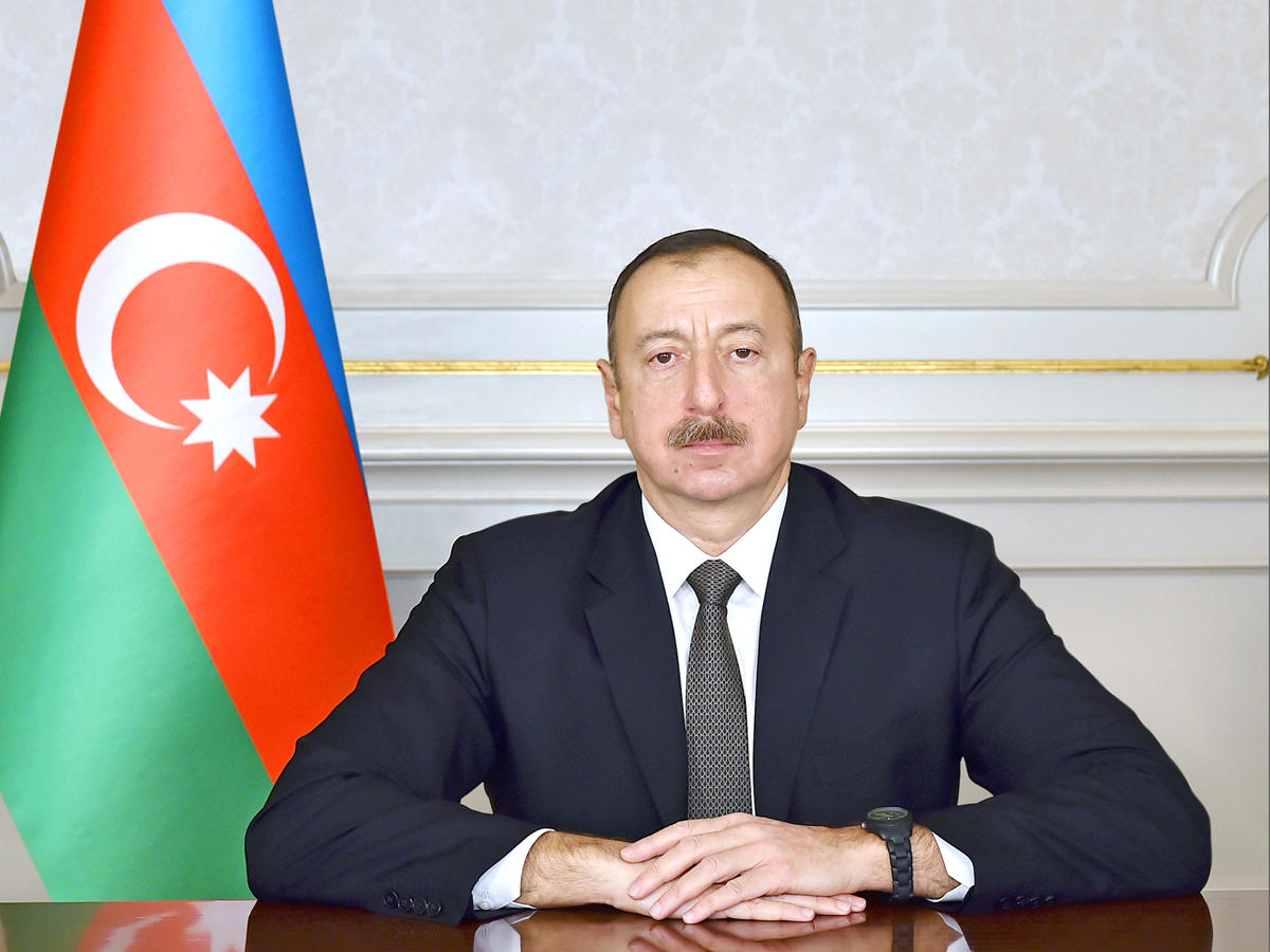 Azerbaijani President approves funding for construction of road in Balakan