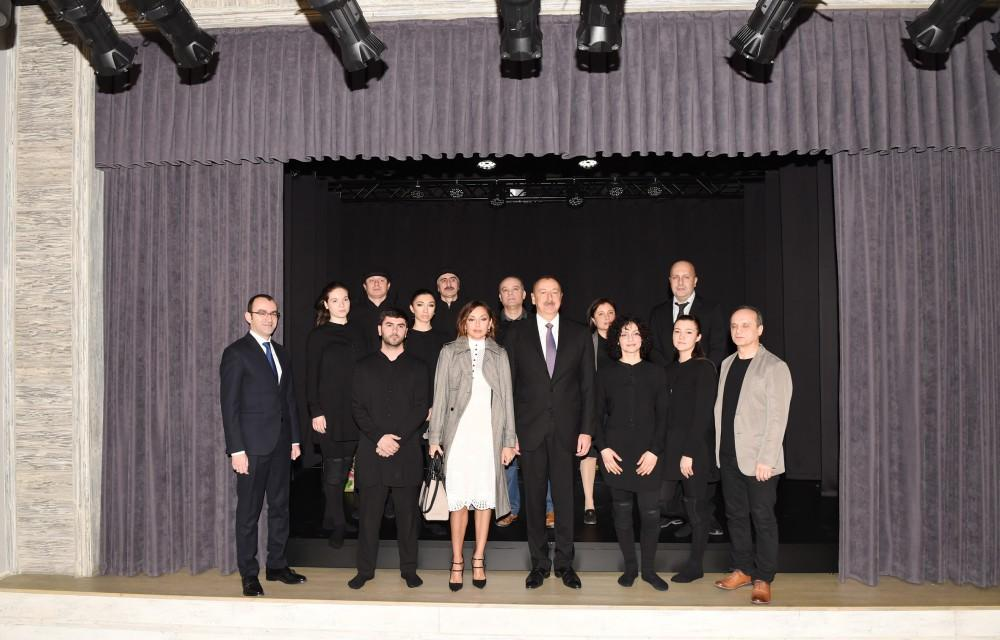 Ilham Aliyev, his spouse attend opening of Marionette Theatre (PHOTO) (UPDATE) - Gallery Image