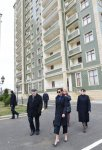 Mehriban Aliyeva opens residential building for graduates of orphanages in Masazir (PHOTO) - Gallery Thumbnail