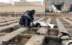 Homeless in Tehran sleep in graves, Rouhani takes notice  (PHOTO) - Gallery Thumbnail