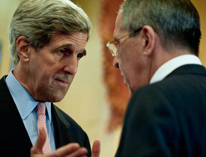 Russia's foreign minister discussed Syria peace plan with US Kerry