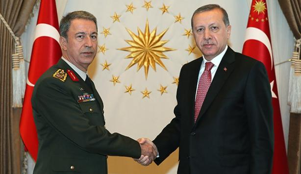 Turkish president to meet with Chief of General Staff