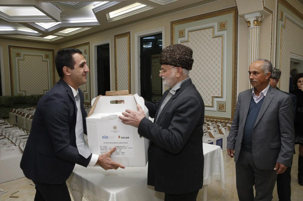 Heydar Aliyev Foundation distributes gifts to low-income families (PHOTO) - Gallery Image
