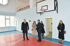 Ilham Aliyev, his spouse attend opening of social rehabilitation centers in Zabrat district (PHOTO) - Gallery Thumbnail