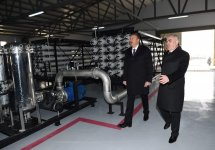 Ilham Aliyev attends ceremony to launch drinking water supply, sewage systems in Julfa (PHOTO) - Gallery Thumbnail