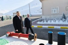 Ilham Aliyev launches drinking water supply system in Shahbuz (PHOTO) - Gallery Thumbnail