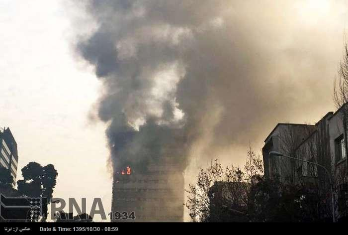 At least 20 dead as Tehran's Plasco crumbles after fire (PHOTO, VIDEO) (UPDATING) - Gallery Image