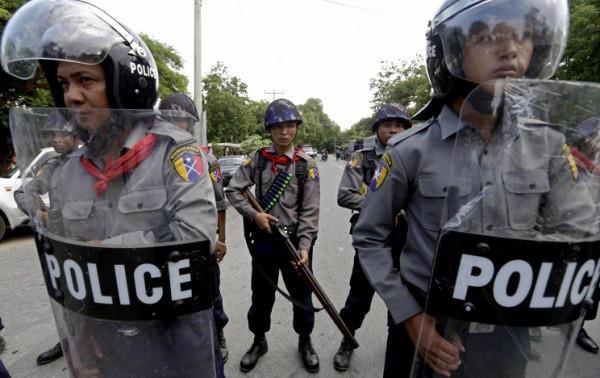 Myanmar'daki şiddet olaylarında 96 kişi hayatını kaybetti
