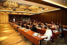 В Баку стартовали Международные судейские курсы FIG по художественной гимнастике (ФОТО) - Gallery Thumbnail