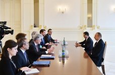 Ilham Aliyev meets European Commission director general (PHOTO) - Gallery Thumbnail