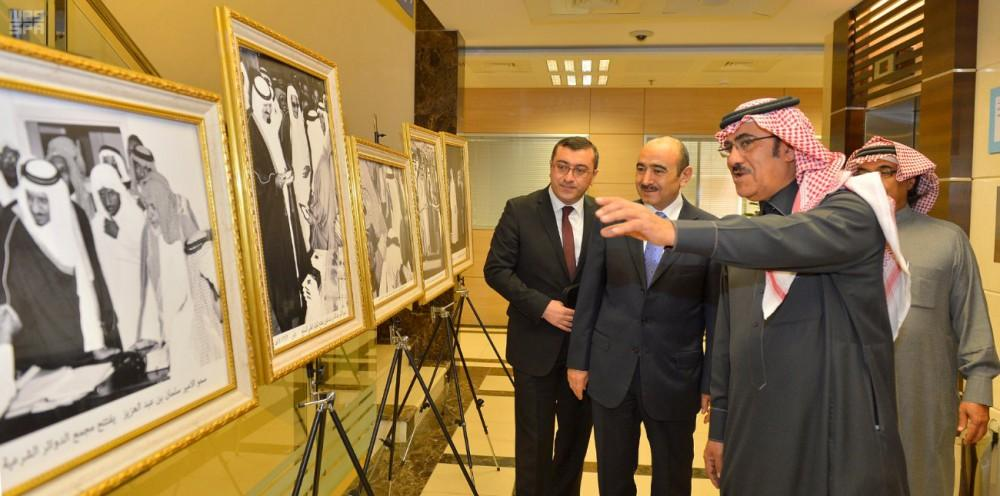 Ali Hasanov meets Saudi Press Agency president (PHOTO) - Gallery Image