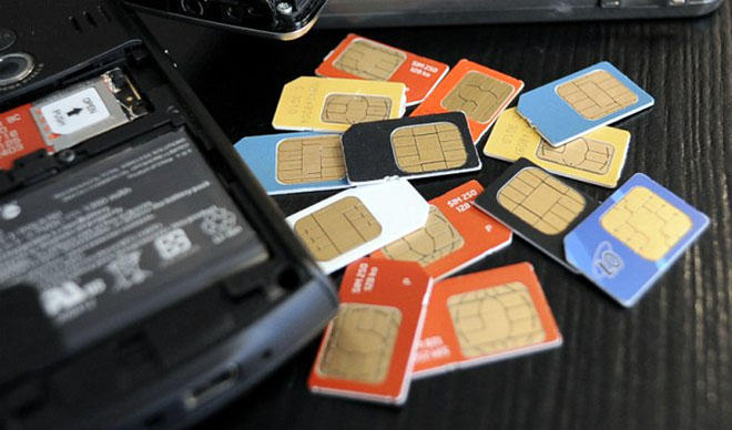 Number of subscribers or active SIM cards in Georgian mobile operators down