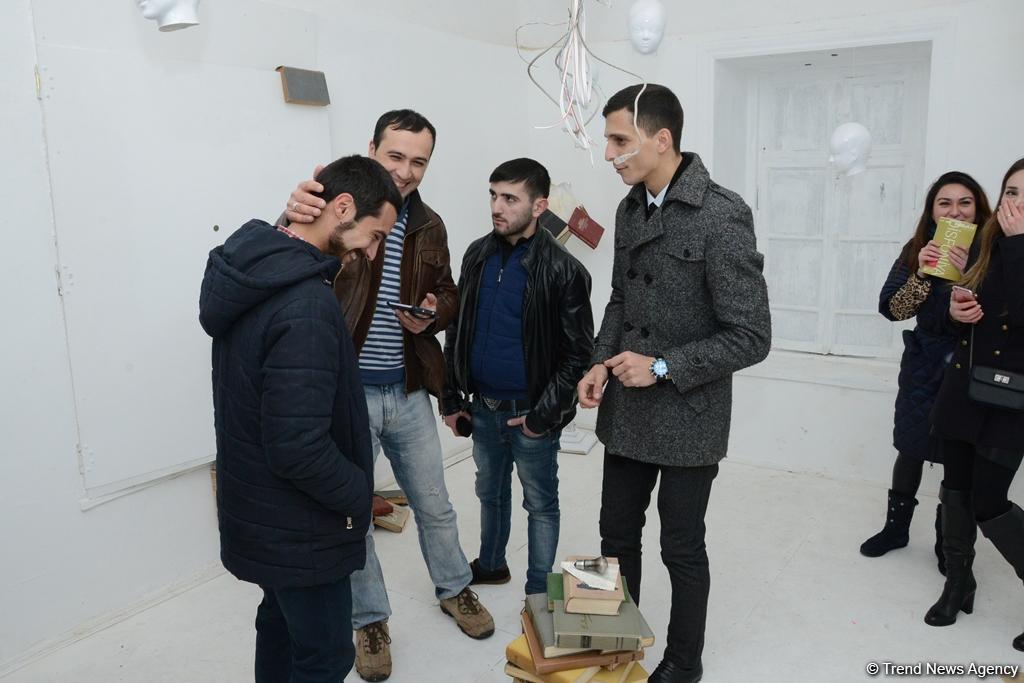 """Disfoniya"" qrup sərgisi keçirilib  (FOTO) - Gallery Image"