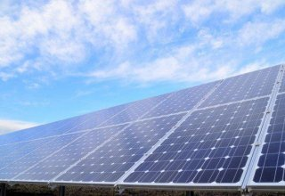Solar panel power plant launched in Iran's Fars Province