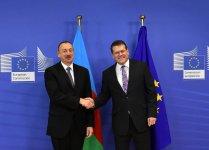Ilham Aliyev meets European Commission VP Maros Sefcovic (PHOTO) - Gallery Thumbnail