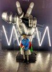 """Азербайджанский певец в телепроекте """"Голос Украины"""" (ФОТО) - Gallery Thumbnail"""