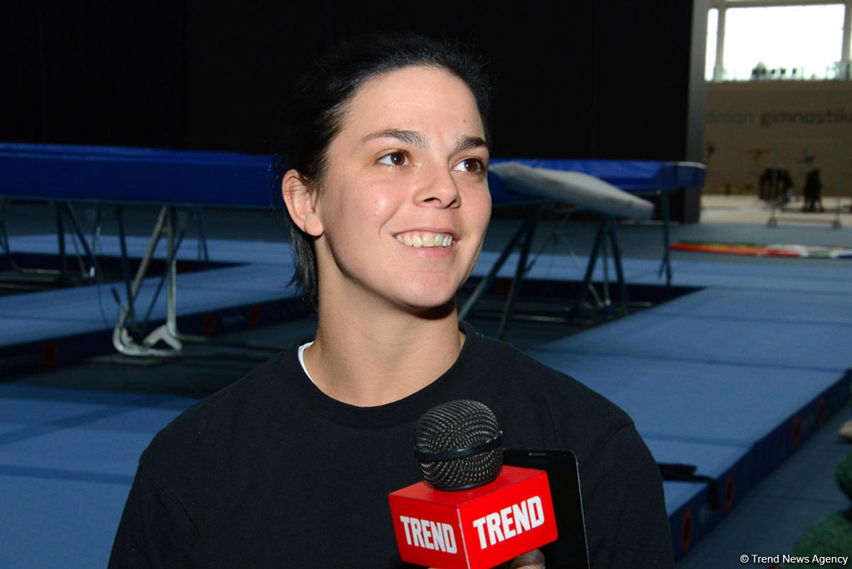 Excellent conditions for gymnasts in Azerbaijan: RSA's Zoonekynd