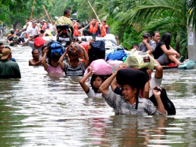 12 killed, nearly 15,000 flee home as floods, landslides hit western Indonesia