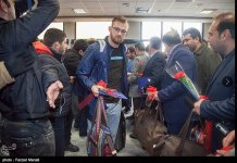 US wrestling team welcomed in Iran (PHOTO) - Gallery Thumbnail
