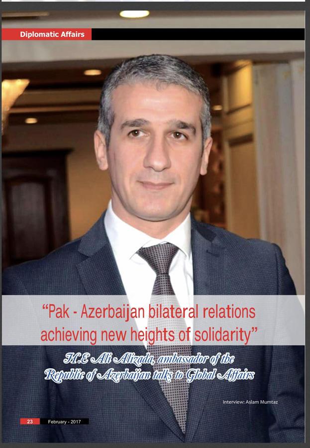 Səfir: Azərbaycanla Pakistan arasındakı əlaqələr yüksək səviyyəyə çatıb (FOTO)