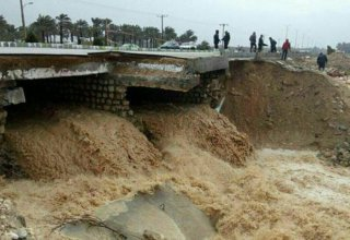 Flooding and blizzard affect over 10 Iranian provinces