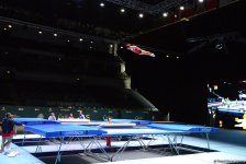 Training session for FIG World Cup in Baku (PHOTO) - Gallery Thumbnail