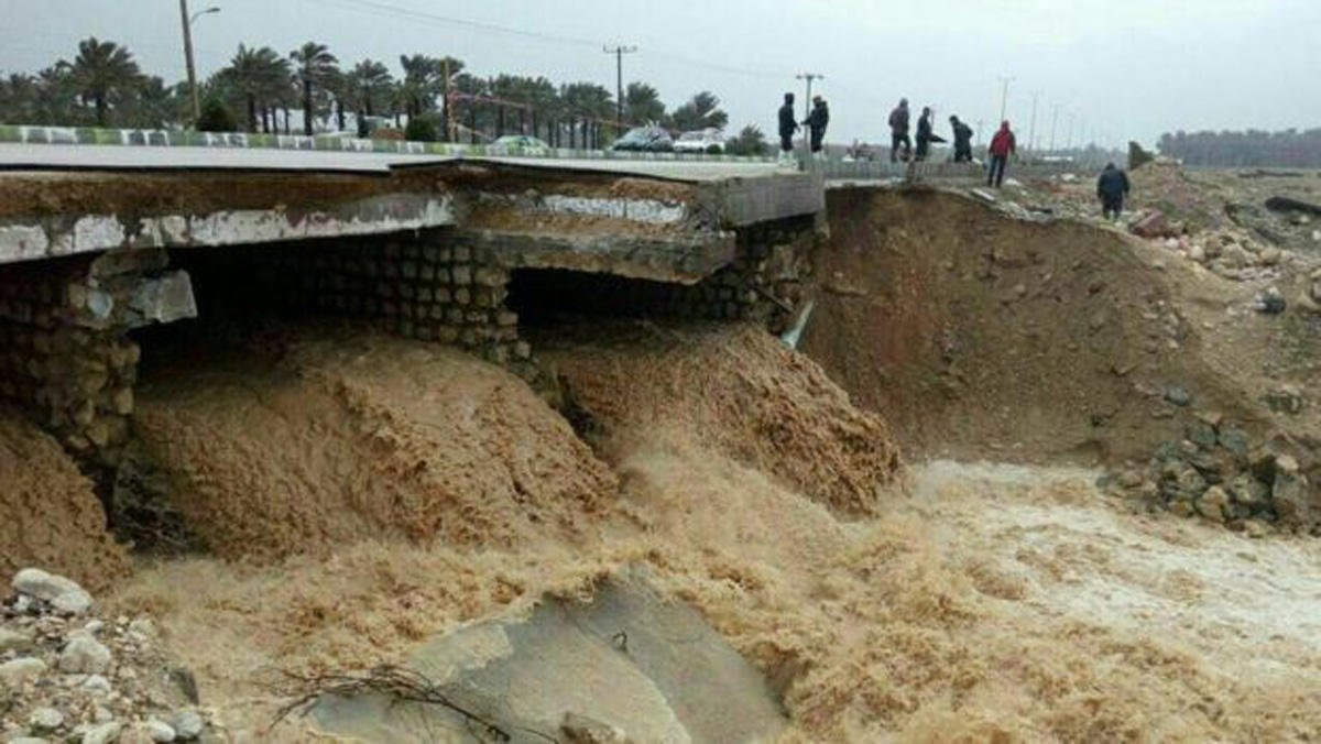 Flood breaks dam in southern Iran (PHOTO) - Gallery Image