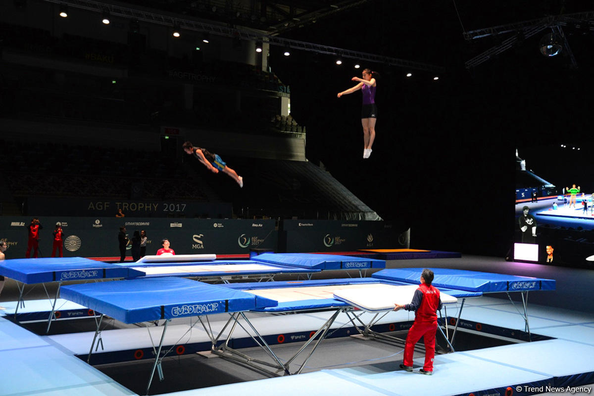 Training session for FIG World Cup in Baku (PHOTO) - Gallery Image